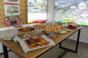 High tea at the Floor Plans Launch Event