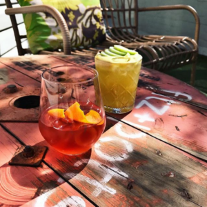 Delicious cocktails from Fitz and Potts